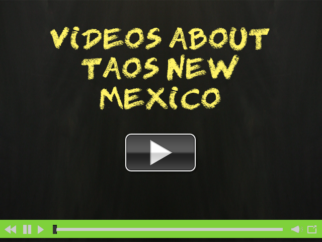 Videos About Taos New Mexico