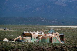 Earthship Taos house