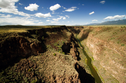 Rio Grande River Gorge Taos New Mexico
