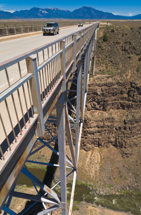 Rio Grande Gorge Bridge Taos New Mexico