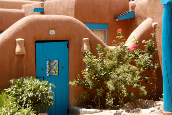 Taos New Mexico Typical Home Styles